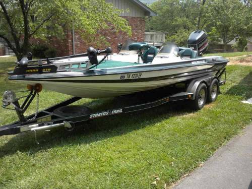 1997 Stratos Pro Elite Dc Bass Boat Tennessee Sold